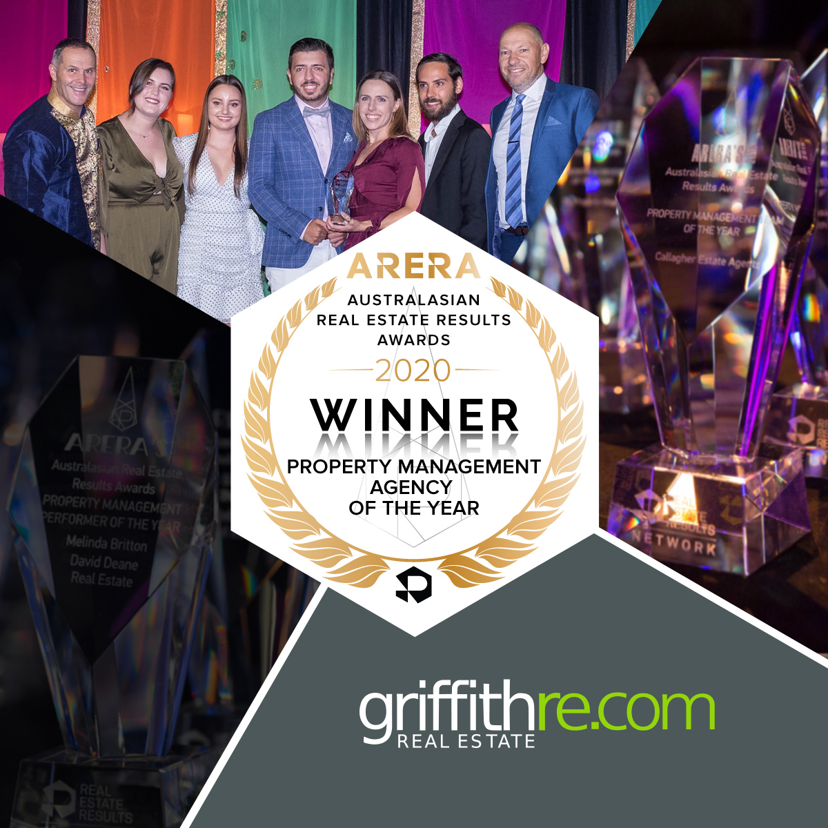ARERAS20 Winner Social - PM Agency - Griffith
